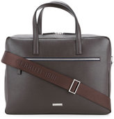 Cerruti 1881 - cross grain briefcase - men - Calf Leather - One Size