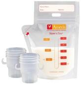 Ameda Store N Pour Milk Storage Bags with 2 Adaptors - 20ct
