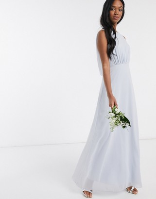 Maids To Measure bridesmaid cowl back chiffon dress