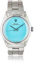 Vintage Watch Women's Vintage Oyster Perpetual Date Watch-TURQUOISE