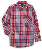 Tommy Hilfiger Plaid Button-Down Shirt