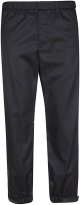 Prada Wide Fit Ribbed Waist Trousers