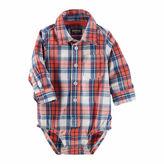 Osh Kosh Oshkosh Red Plaid Bodysuit - Baby