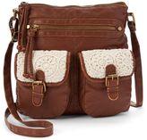 Mudd Primrose Crochet Crossbody Bag