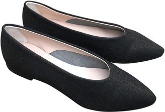 Portamento - Galaxy Black Flat Shoes - 37 - Black