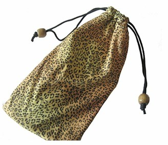 Just4ugifts Animal Print Bead Cord Glasses Cloth Sleeve (1 pack