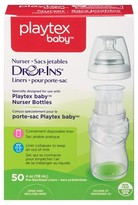 Playtex Baby Drop-Ins Liners For Baby Nurser Bottles 4-6oz 50 count