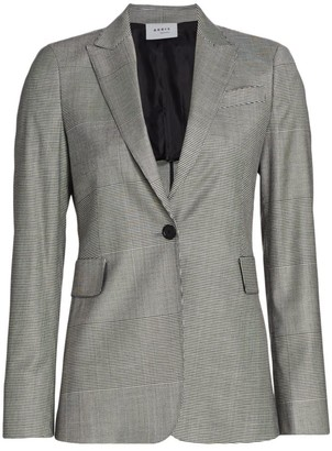 Akris Punto Houndstooth Jacket