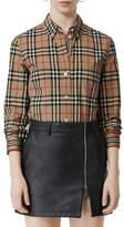 Burberry Check Slim Fit Shirt