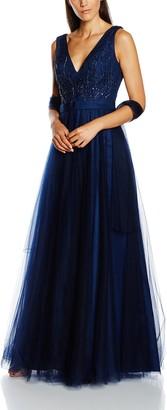 Mascara Women's Beaded Bodice Dress