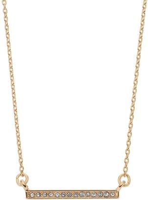 Lauren Conrad Crystal Bar Necklace