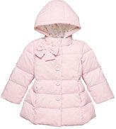 Kate Spade Babies bow neck puffer coat