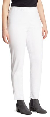 Joan Vass, Plus Size Slim Denim Leggings