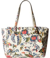 Tory Burch Parker Floral Small Tote Tote Handbags