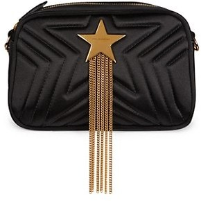 Stella McCartney Stella Star Fringe Satin Camera Bag
