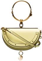 Chloé Yellow Nile minaudiere bracelet bag