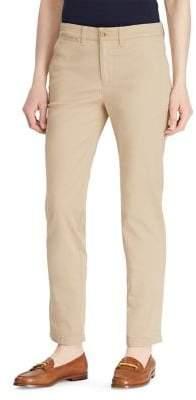 Lauren Ralph Lauren Petite Stretch Chino Straight Pants