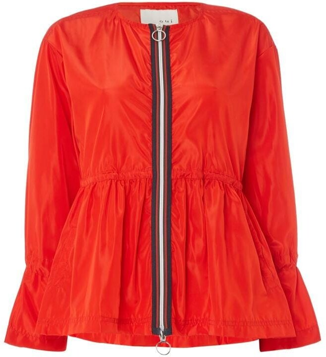 Thumbnail for your product : Oui Zip up outdoor jacket