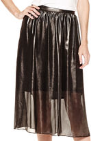 WORTHINGTON Worthington Print Midi Skirt - Tall