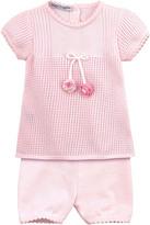 Baby Graziella Cotton knit dress and leggings