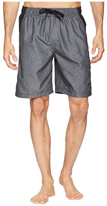 Negro Carb/ón USA Speedo Short Multi-Sport De 16 Shorts De Ba/ño Hombre XL