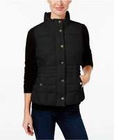 Charter Club Petite Quilted Vest, Only at Macy's