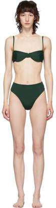 Haight Green Vintage Bikini