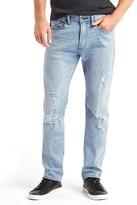 Gap STRETCH 1969 destructed slim fit jeans