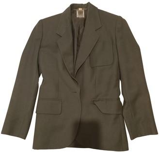 Celine Khaki Cotton Jackets