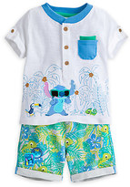 Disney Stitch Shirt and Shorts Set for Baby