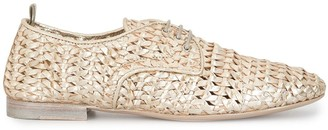 Officine Creative Lila woven oxford shoes