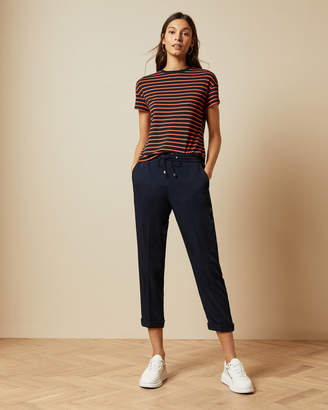 Ted Baker Elasticated Waistband Cropped Trousers