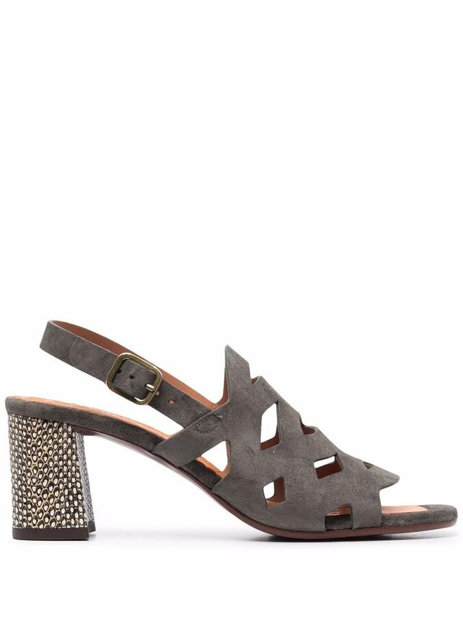 Chie Mihara Zeus high-heel suede sandals