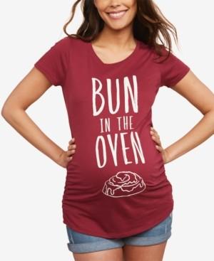 Motherhood Maternity Bun In The Oven Maternity Tee