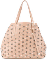 Jimmy Choo star studded tote - women - Calf Leather - One Size