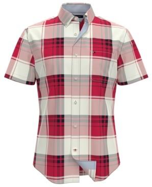 Tommy Hilfiger Men's Rupert Custom-Fit Plaid Shirt