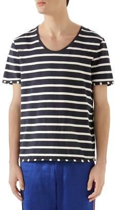 Gucci Striped Label T-Shirt