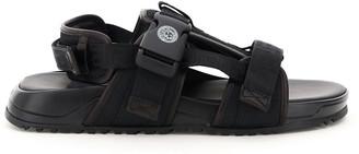 Versace Sandals With Greca Straps