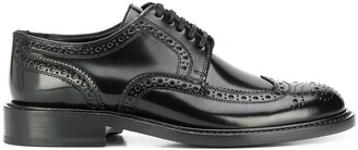 Saint Laurent lace-up perforated Oxfords