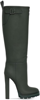 DSQUARED2 120mm Tank Rain Leather Tall Boots