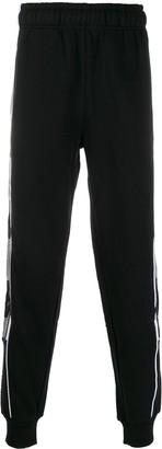 Kappa logo stripe track pants