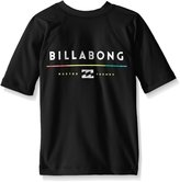 Billabong Big Boys' All Day Short Sleeve Regular Fit Rashguard