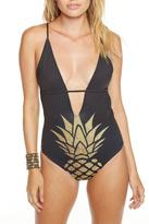 Chaser Golden Pineapple Swimsuit