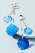 Sibilia Movement Double Baton Drop Earrings