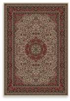 Bed Bath & Beyond Concord Global Isfahan 5-Foot 3-Inch x 7-Foot 7-Inch Rug in Ivory