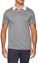 Lanvin Contrast Spread Collar Polo Shirt