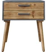 Raynor Wooden End Table Wrought Studio