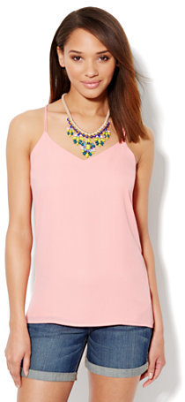 New York & Co. Reversible Halter Top