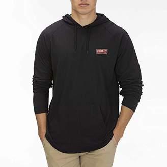 Hurley Men's M PRM Paradise Ls Hd T-Shirt,XL