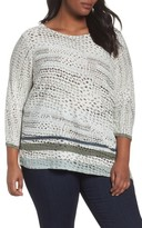 Nic+Zoe Plus Size Women's Savannah Top